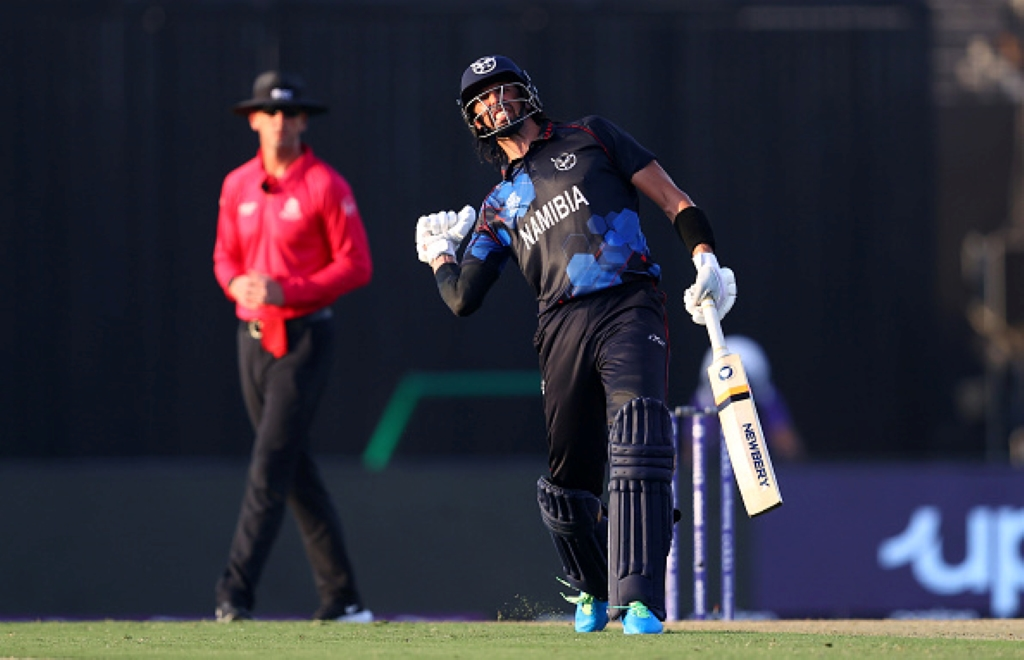 T20 World Cup result: Wiese powers Namibia past the Dutch