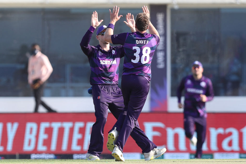 T20 World Cup result: Scotland cruise past Oman to clinch top spot