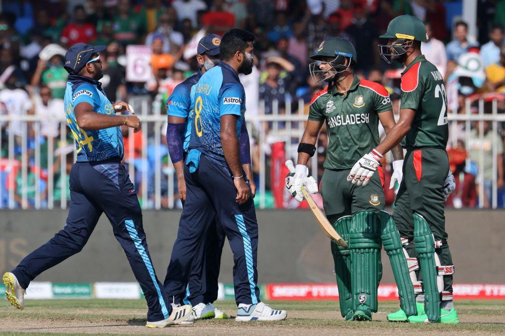 Lahiru Kumara and Liton Das Fined after T20 World Cup altercation